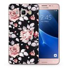 Hot Cute Colorful Floral Flowers Women Ladies Soft Cover Case Fit Samsung Galaxy