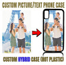 Customized Custom Text Image Photo Picture Phone Cover Case For iPhone Galaxy