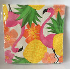 green paper plates - Pink Flamingo Paper Party Supplies Napkins or Plates Pink Yellow Green Choose