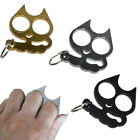 Cat-Self-Defense Tool 3 Color Useful Chain Metal Keyrings Gift Lady Personality