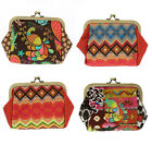 Happiness Ladies Colourful Large Clasp Purse