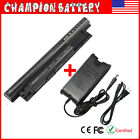 58Wh Battery for Dell Inspiron MR90Y 14R (5421 5437) 15R (3521) / Charger