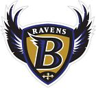 Baltimore Ravens Shield Logo NFL Color Die Cut Vinyl Decal cornhole car wall new on eBay