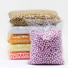 4/6/8/10mm Assorted Round Pearl Loose Acrylic Beads Crafts Jewelry Making