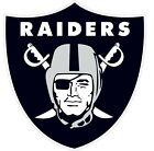 Oakland Raiders NFL Color Vinyl Decal Sticker - New You Pick Size