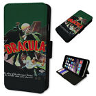 RETRO DRACULA POSTER ART FLIP PHONE CASE COVER WALLET CARD HOLDER 2018