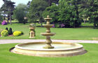 Cast Stone Large Triple Bowl Fountain FT40 from Acanthus