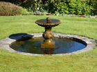 Cast Stone Single Bowl Fountains from Acanthus
