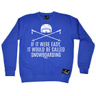 Skiing Sweatshirt Easy Snowboarding jumper top sports funny Birthday JUMPER