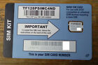 New Straight Talk 4g LTE SIM Card Verizon AT&T T-Mobile Standard, Micro, or Nano