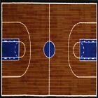 Rug Area Rugs 100% Nylon Carpet Fun Time Two Sizes Basketball Court Multi-color
