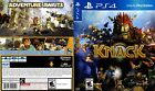 knack playstation - KNACK (PLAYSTATION 4 PS4) REPLACEMENT CASE
