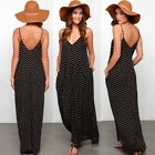 Womens Long Maxi Dress Prom Evening Party Summer Beach Boho Holiday Dresses Lot