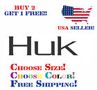 HUK Performance Fishing Gear Outdoor Sports Decal Sticker Choose Color And Size