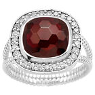 Hessonite Garnet Simulated 925 Sterling Silver Rings Jewelry Size 6-10 DGR1072_J