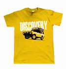 Discovery, Mens Off Road T Shirt - Gift for Dad Him 4X4 Birthday