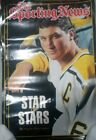 The Sporting News Star of Stars Pittsburgh Penguin Mario Lenienx Poster -PMJS