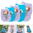 Dog T-shirt Cotton Summer Dog Clothes Kitten Puppy Jacket Coat Cat Clothes XS-L