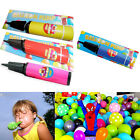 Party Crazy Balloon Hand Pump Four Colours Red Yellow Blue and Pink Easy Blow up