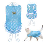 Lace Dog T-shirt Summer Dog Clothes Puppy Kitten Coat Vest for Small Medium Dogs