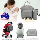 LAND Outdoor Bags Diaper Nappy Backpack Mummy Changing Bag Multifunctional AU