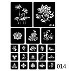 40 Style Hollow Henna Tattoo Stencil Body Hand Art Paste Drawing Temporary