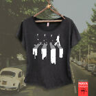 abbey road painting - The Beatles Abbey Road Spilled Paint Womens Scoop Tee The Greatest Band Rock