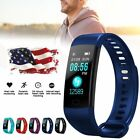 blood pressure wrist watch - Y5 Sports Blood Pressure Oxygen Heart Rate Fitness Smart Watch Wrist Band NEWEST