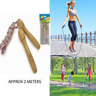 Wooden Handle Skipping Rope Outdoor Toy Children Kid Fitness Exercise Speed Jump