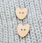 Wooden Button Shape Craft Button Mother's Day Plaque Plain Plywood Frame
