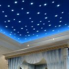 100pcs 3D Colored Stars Sticker Glow In The Dark Wall Decal Home Room Decor US
