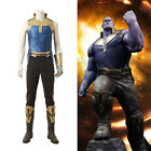 Movie Avengers Infinity War Thanos Cosplay Costume Halloween Party Suit Full Set