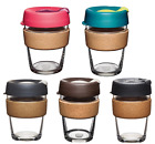 KeepCup Changemakers Brew - Cork Glass Edition Reusable Travel/Coffee Mug
