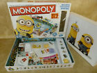 DESPICABLE ME2 MONOPOLY Board Game  Minions With Figures Complete see listing