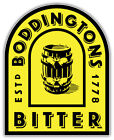 Boddingtons Bitter Logo Sticker Car Bumper Decal - 9'', 12'' or 14''