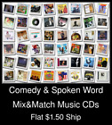 Comedy & Spoken Word(1) - Mix&Match Music CDs U Pick *NO CASE DISC ONLY*