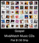Gospel(3) - Mix&Match Music CDs U Pick *NO CASE DISC ONLY*