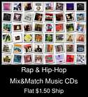 Rap & Hip-Hop(4) - Mix&Match Music CDs U Pick *NO CASE DISC ONLY*