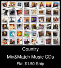 Country(5) - Mix&Match Music CDs U Pick *NO CASE DISC ONLY*