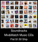 Soundtracks(6) - Mix&Match Music CDs U Pick *NO CASE DISC ONLY*