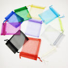 10-100pcs Luxury Organza Wedding Favour Christmas Gift Candy Bags Jewelry Pouch