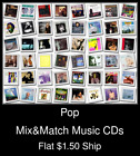 Pop(23) - Mix&Match Music CDs U Pick *NO CASE DISC ONLY*