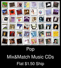 Pop(31) - Mix&Match Music CDs U Pick *NO CASE DISC ONLY*