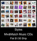Styles(32) - Mix&Match Music CDs U Pick *NO CASE DISC ONLY*