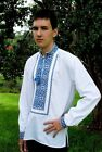 "Ukrainian Men's embroidered shirt ""Oleksa"" 100% cotton"