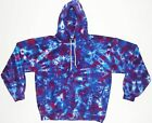 Adult TIE DYE Purple Blotter Hoodie Sweatshirt hippie Grateful Dead Small-3X art