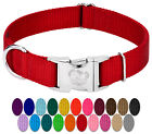 Country Brook Design® Premium Nylon Dog Collars-Various col