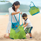 1Pcs Sand Away Carry All Beach Mesh Bag Tote (Swim, Toys, Boating. Etc)-S/L Size