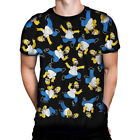 The Simpsons - HOMER PILE - Mens T-Shirt / TV Show, Cartoon Character,