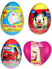 CHOCOLATE kinder Joy Eggs Girls Boys Surprise eggs Barbie Spider Man Disney